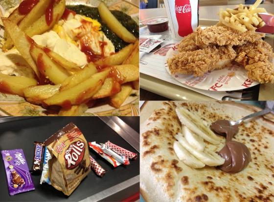 Fast food si dulciuri