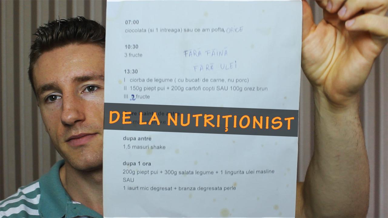 Analiza unei diete de slabire